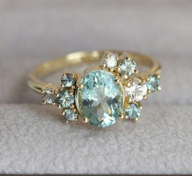 jewelry custom gemstone cluster ring deposit 2695717
