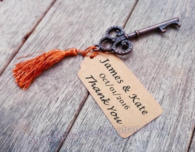 wedding photo - Beter Gifts® 節日禮品 派對小禮物BETER-HH030金色鑰匙開瓶器DIY創意通往天堂的鑰匙  #婚禮小禮物 #單身派對 #廣告促銷禮品 #DIY婚禮小物