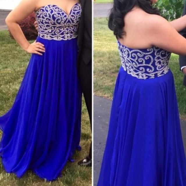 Royal Blue Prom Dress,long Prom Dress,sweetheart Prom Dress,charming Prom Dress,junior Evening ...
