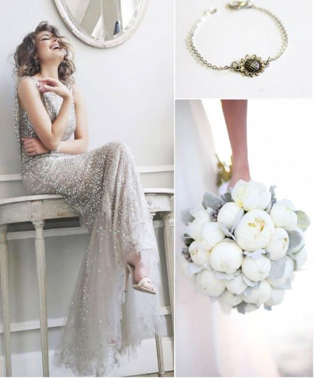 wedding photo - Shining Silver Wedding Ideas FEBRUARY 16, 2015 ...