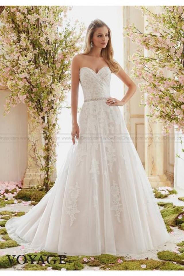 wedding photo - Mori Lee Wedding Dresses Style 6834