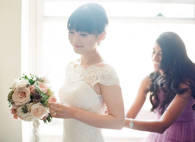 An English Garden Themed Wedding In Vancouver Weddbook