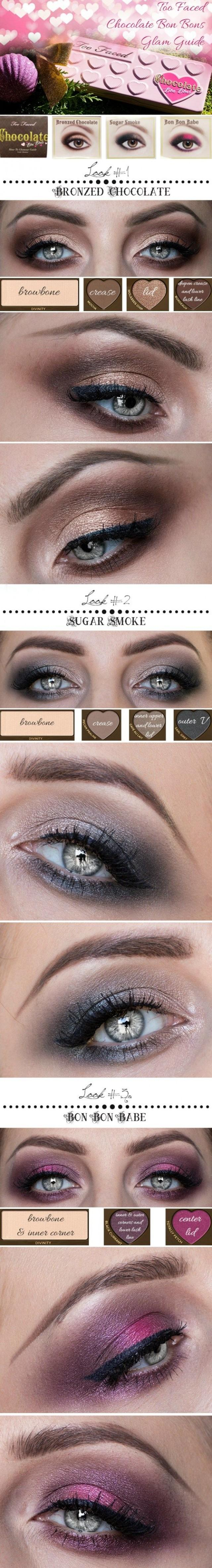 Too Faced Chocolate Bon Bons Glam Guide
