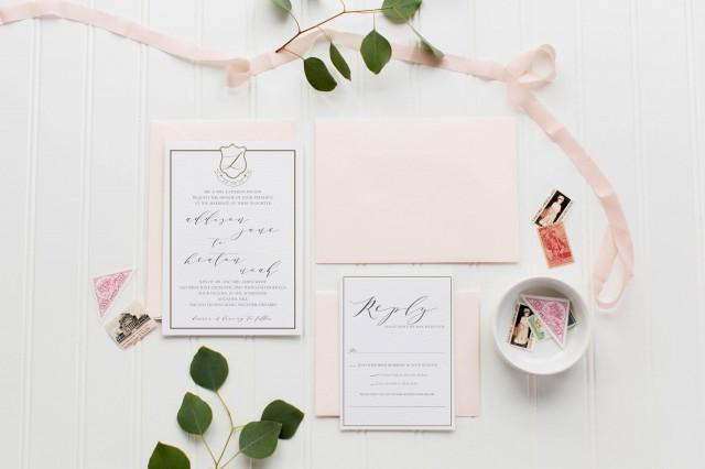 The Keaton Wedding Invitation Suite