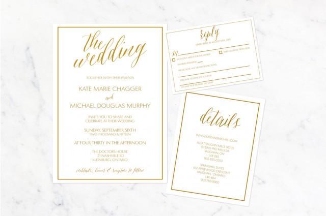 The Kate Invitation Suite