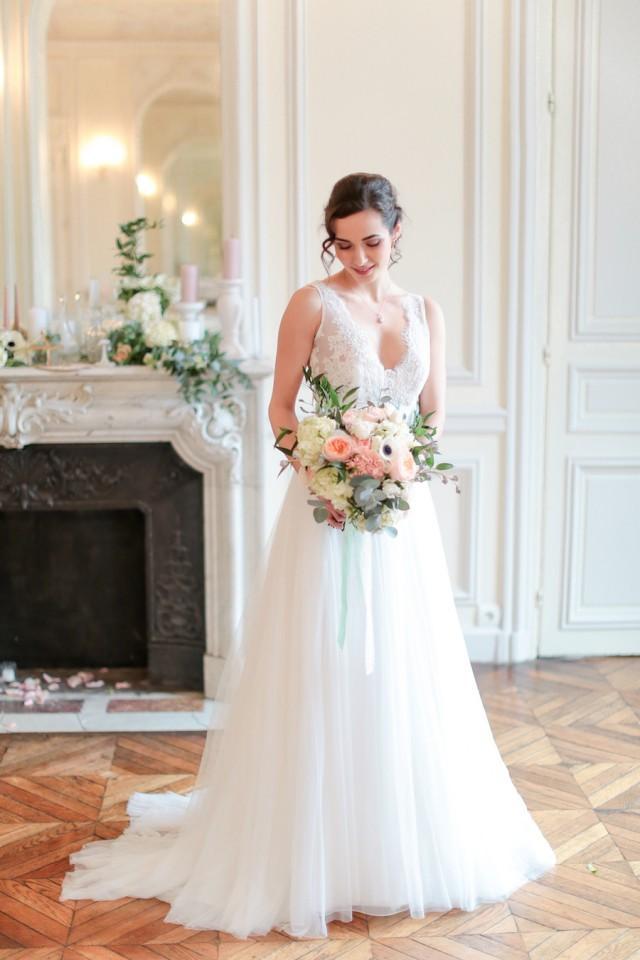 stile francese e dettagli moderni per un matrimonio in
