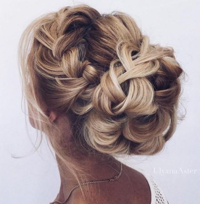 Braid wedding bun hairstyles