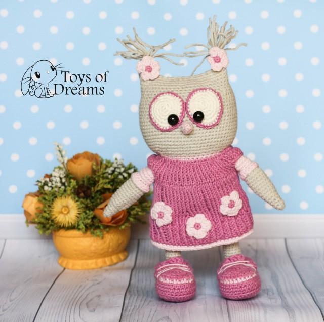 Amigurumi Barn Owl : Crochet Owl, Owl, Barn Owl, Amigurumi Owl, Cute Owl ...