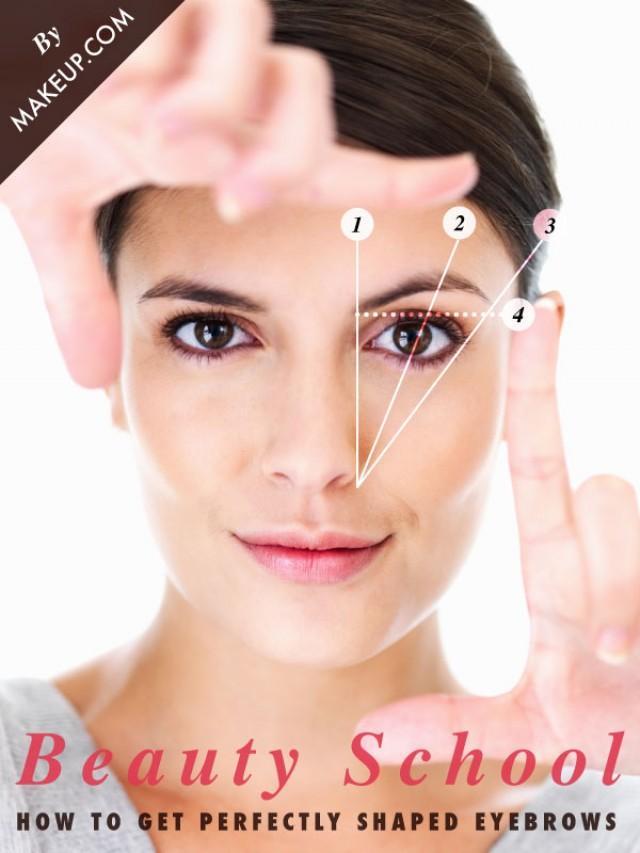 How To Shape Your Eyebrows Makeup Weddbook