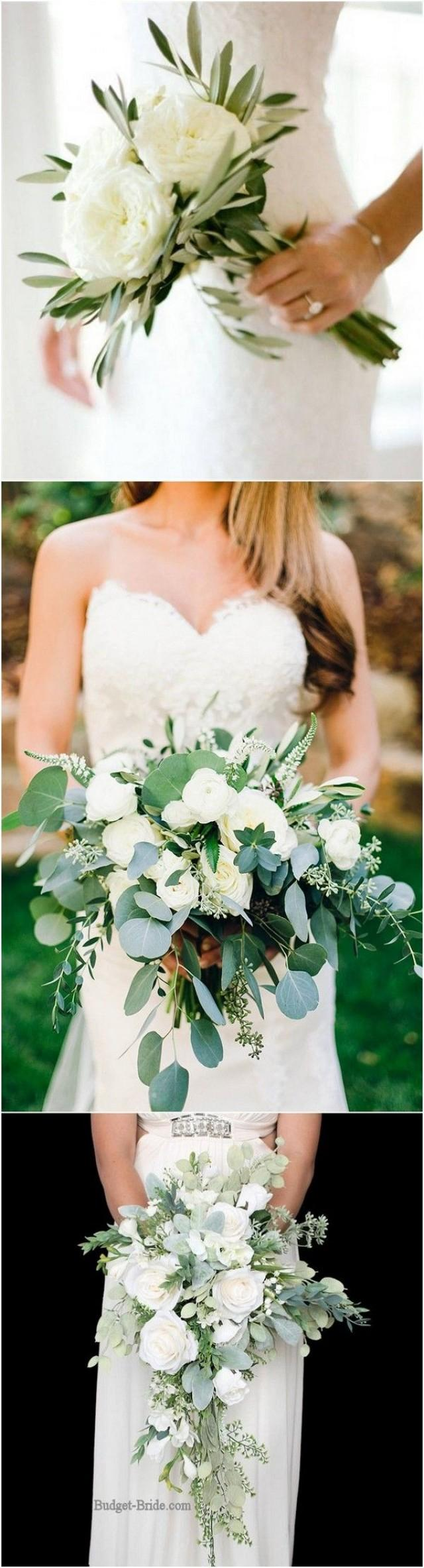 Top 10 White And Green Wedding Bouquet Ideas You'll Love - Page 2 Of 2