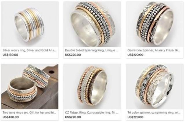 wedding photo - Beautiful Wedding Spinning rings