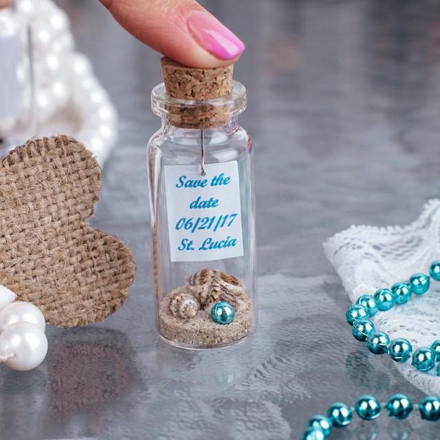 wedding photo - beach wedding favors, blue wedding favors, nautical wedding, seashell favors beach party gift for guests party favors mermaid favors - $2.39 USD