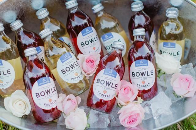 Das neue Hochzeitsgetränk: die Bowle To Go - Hochzeitswahn - Sei inspiriert!