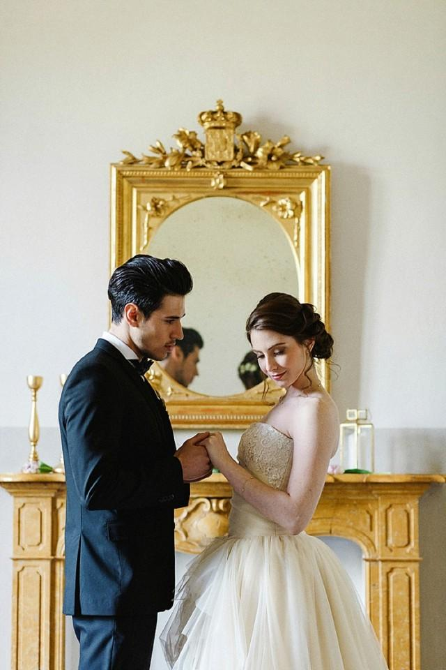 """A Song of Love"": Inspiration for an Italian Castle Wedding"