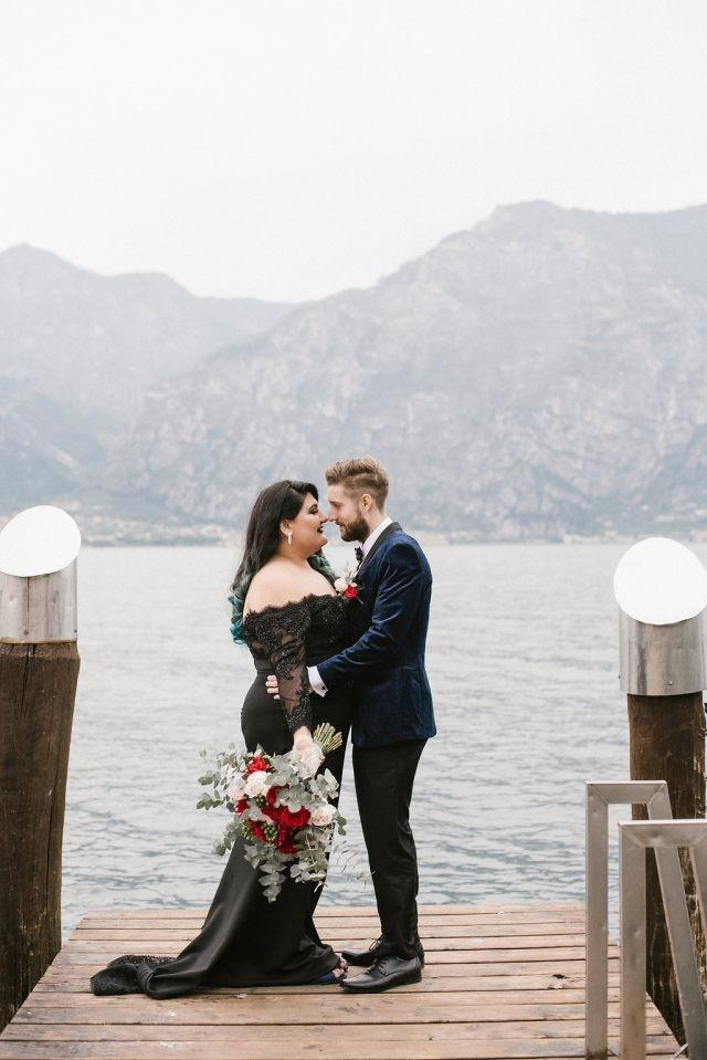 Addams Family Inspired Elopement in Italy