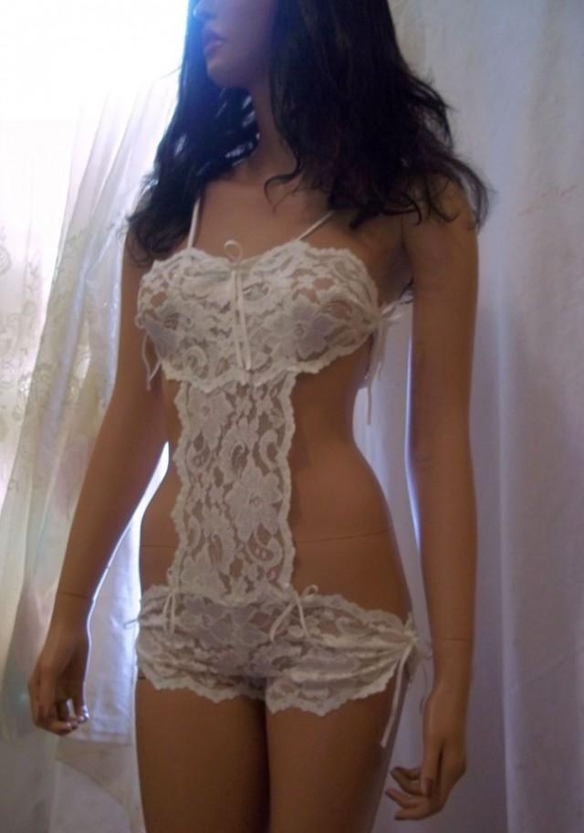 wedding photo - Bridal Lingerie, Sexy Sleepwear, Teddy Lingerie, Intimates, Honeymoon Lingerie