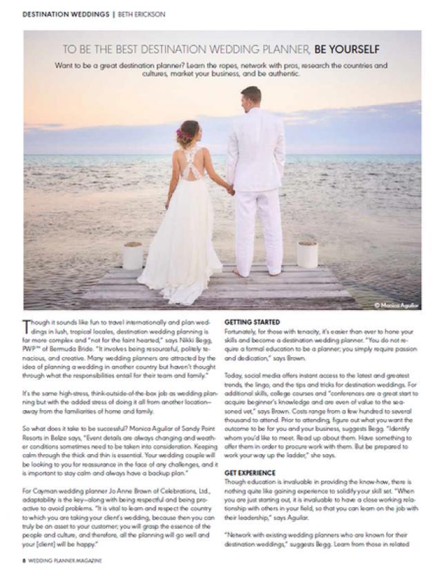 Celebrationsltd weddbook the celebrations were featured in wedding planner magazine solutioingenieria Gallery