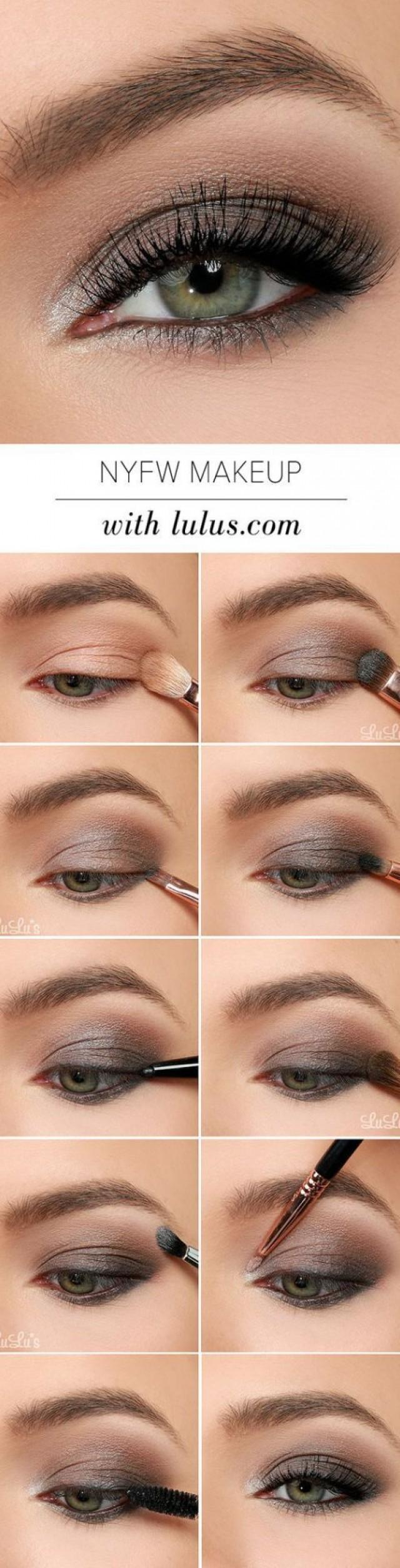 Ежедневный макияж для зеленых глаз пошаговое в домашних