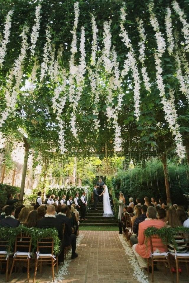 Trending-12 Fairytale Wedding Flower Ceiling Ideas For Your Big Day - Page 2 Of 2