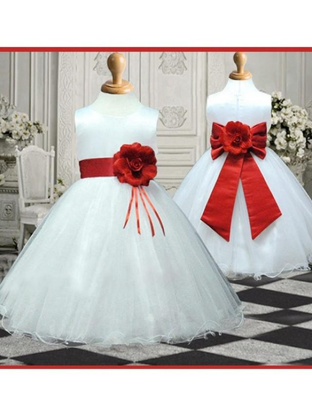 wedding photo - Flower Girl Dresses, Baby Girl Dresses Special Occasion UK Sale