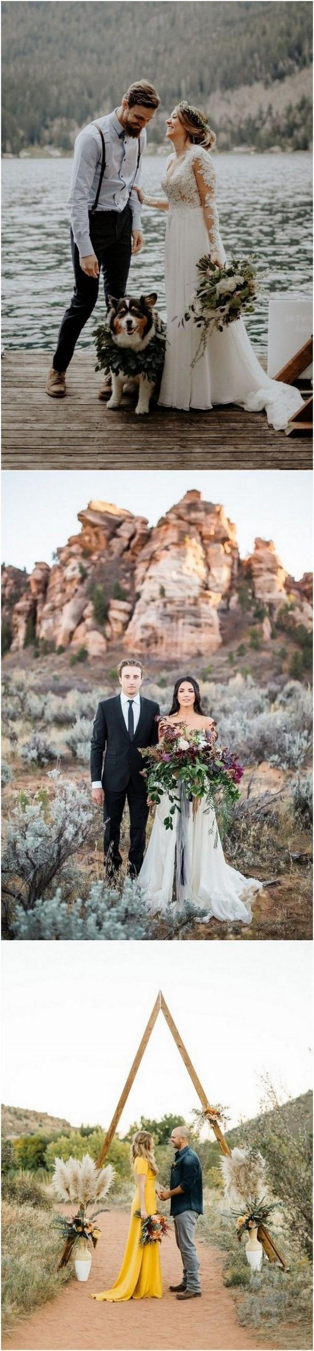 wedding photo - Top 20 Elopement Ideas You'll Love