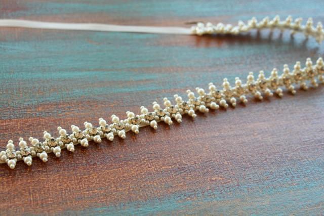 wedding photo - Wedding Dress Belt Pearl, Wedding Belts and Sashes, Pearl Belt for Wedding Dress, Bridal Sashes Belts, Pearl and Rhinestone Belt, Belt Pearl - $79.00 USD