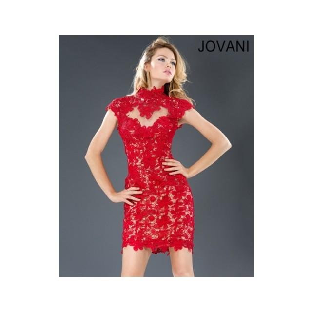 Classical Fashion Cheap New Style Jovani Short Prom/Party/Cocktail Dresses  77604 New Arrival - Bonny Evening Dresses Online