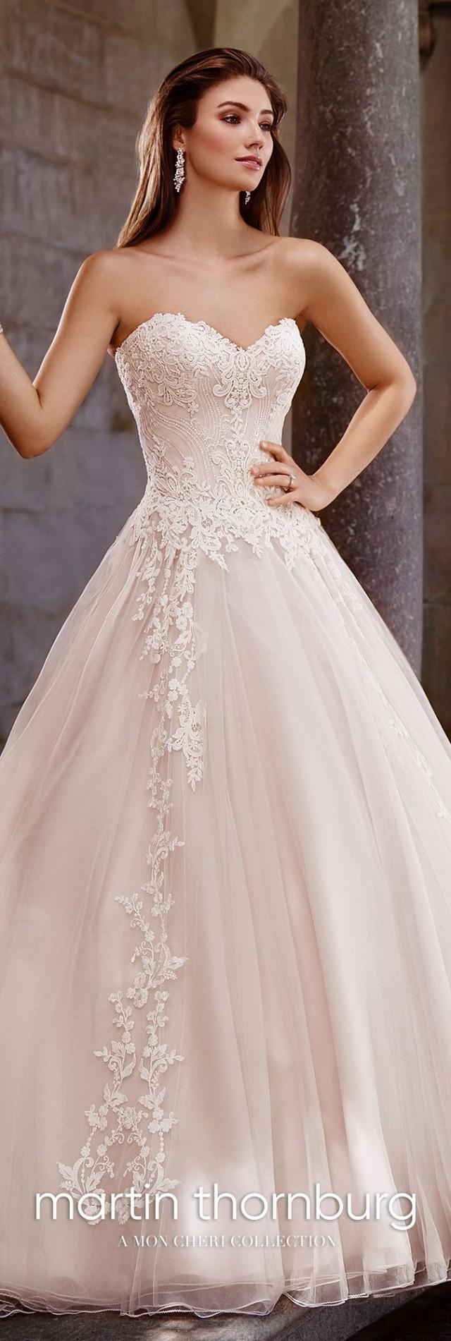 Lace A-Line Sweetheart Neckline Wedding Dress- 117267 Topaz