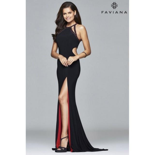 Faviana 7929 Faviana - Rich Your Wedding Day