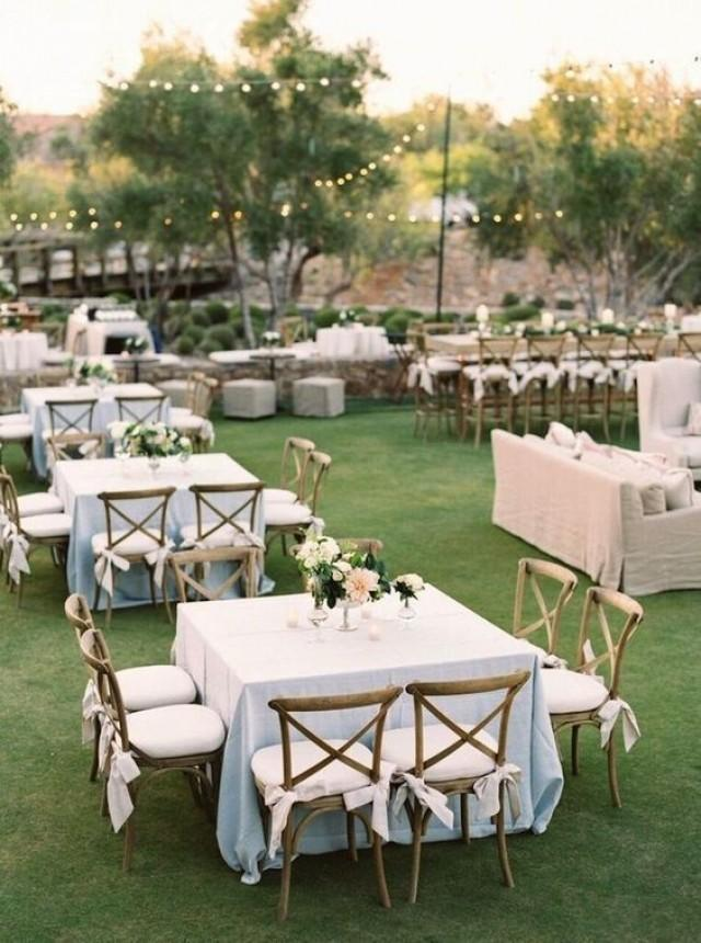 wedding photo - Top 20 Classic Romantic Dusty Blue Wedding Decor Ideas