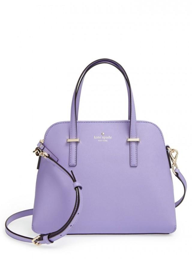This Lovely Lavender Kate Spade Satchel Is So Uptown Chic.
