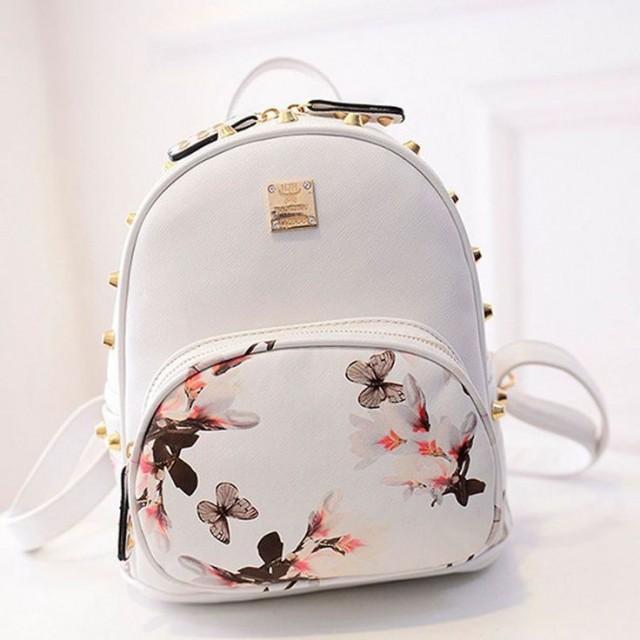 New Girl School Bag Travel Cute Backpack Satchel Women Shoulder Rucksack GYFU