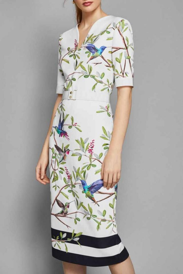 wedding photo - Ted Baker Evrely Highgrove Bodycon Midi Dress