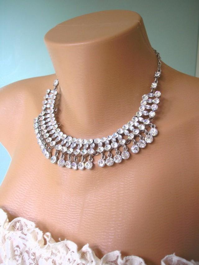 wedding photo - Rhinestone Collar