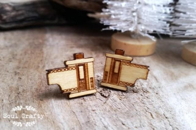 wedding photo - Camera Roll film Wooden Cufflinks film roll Photograher Dad Grooms Best man Groomsman Rustic Wedding Birthday Gift Cuff links