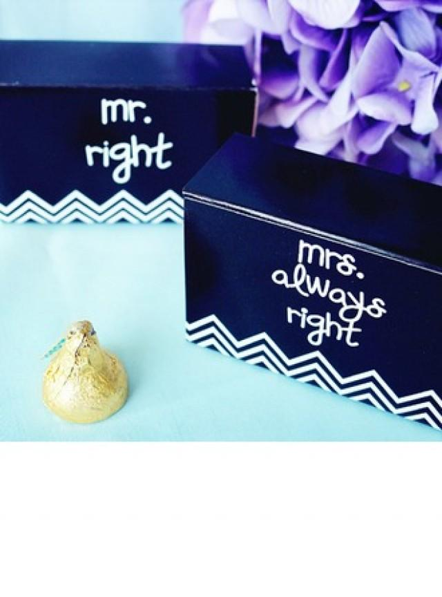 "wedding photo - BeterWedding ""Mr. & Mrs."" Wedding Favor Box (Set of 12)"