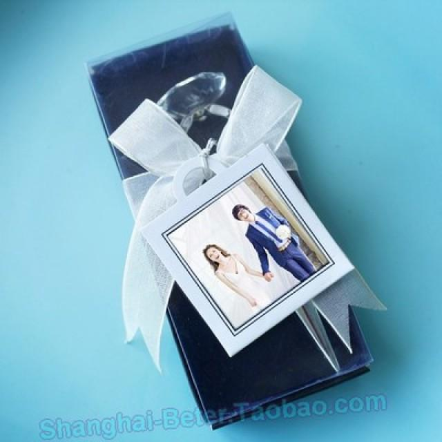wedding photo - BeterGifts DIY Party gift Photo frame tag Thank you tags ZH027