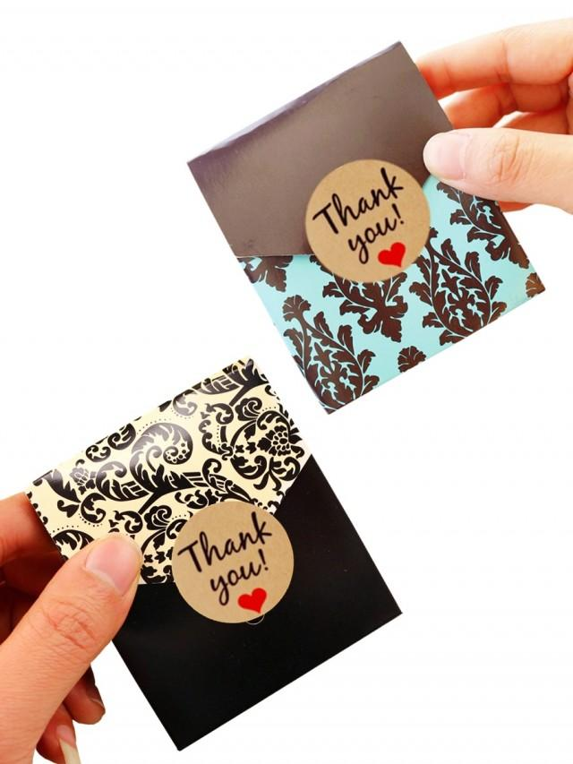 wedding photo - BeterWedding 12pcs/set Damask Wedding Favor Boxes