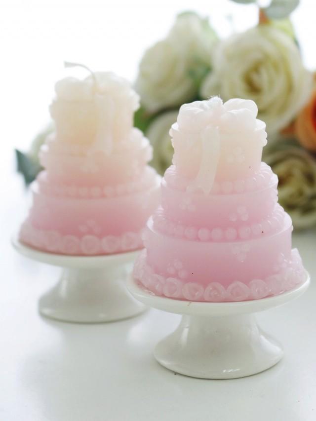 wedding photo - BeterWedding bayi Ulang Tahun Tealight Lilin Kue Bentuk Desain Manis Dekorasi