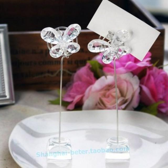wedding photo - 倍樂禮品®Wedding Décor Romantic Table Place Card Holders SJ015/A