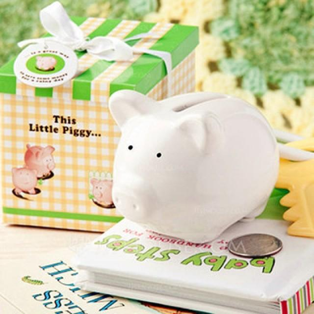 wedding photo - Shanghai Beter Gifts Ceramic Mini-Piggy Bank