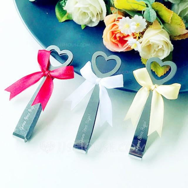 wedding photo - Beter Gifts® Gimme Some Heart Sugar Tongs Bridal Wedding Bomboniere BETER-WJ064