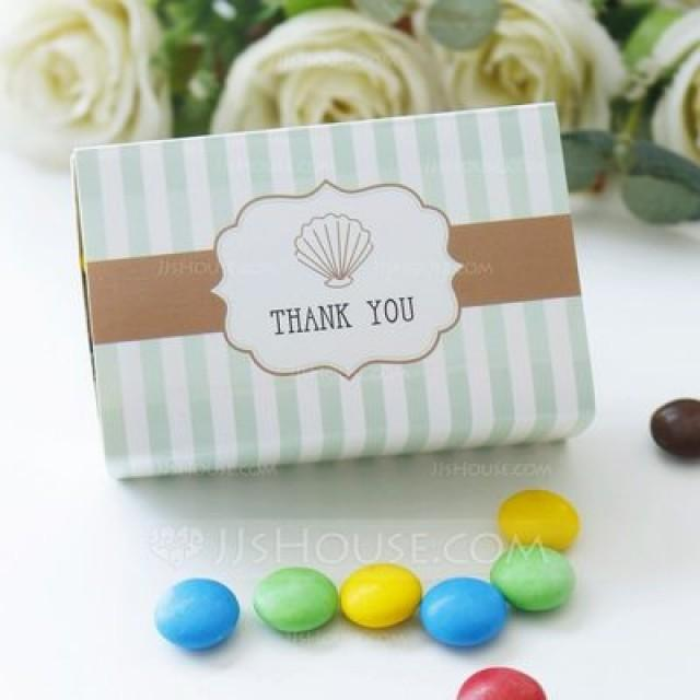 "wedding photo - BeterWedding ""Ocean Breeze"" Seashell Favor Box"
