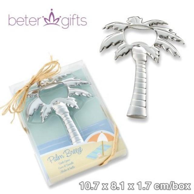 wedding photo - BeterWedding Botella Palm Breeze Cromo Palmera Abridor sanya party gifts BETER-WJ097  http://Shanghai-Beter.Taobao.com