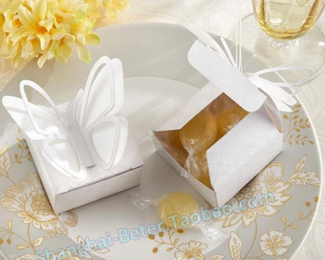wedding photo - Beter Gifts® Candy favor boxes ceremony graduation bouquet TH037