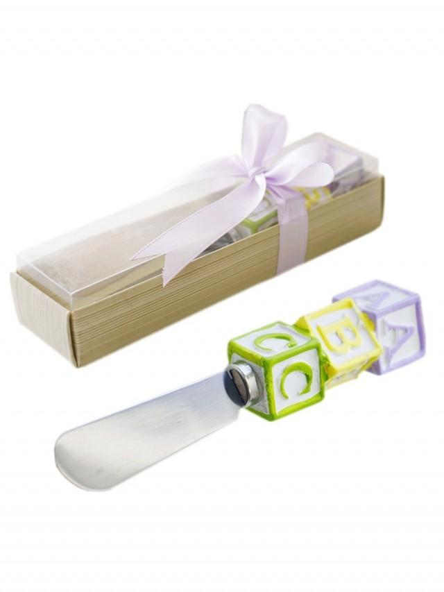 wedding photo - Beter Gifts® Creative Cream Icing Spreader With Alphabet Handle Party Favor Souvenir