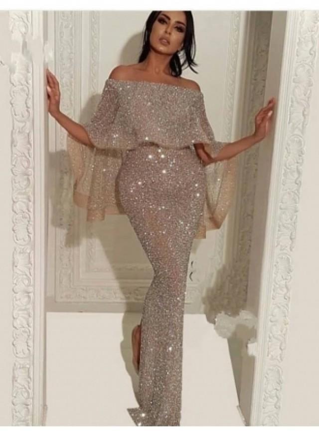 wedding photo - Elegante Abendkleider Mit Glitzer