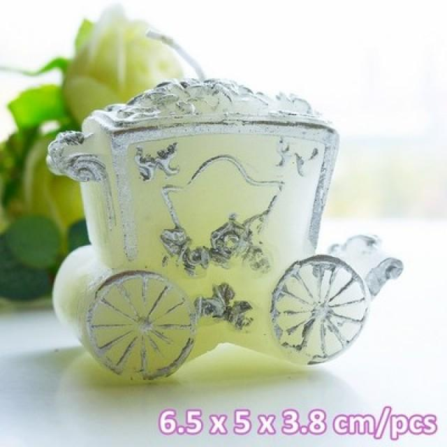 wedding photo - 上海倍乐礼品 Happily Ever After Carriage Candle Spring keepsakes LZ013/A   http://Shanghai-beter.taobao.com