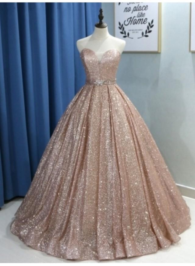 wedding photo - Fashion Abendkleider Mit Glitzer
