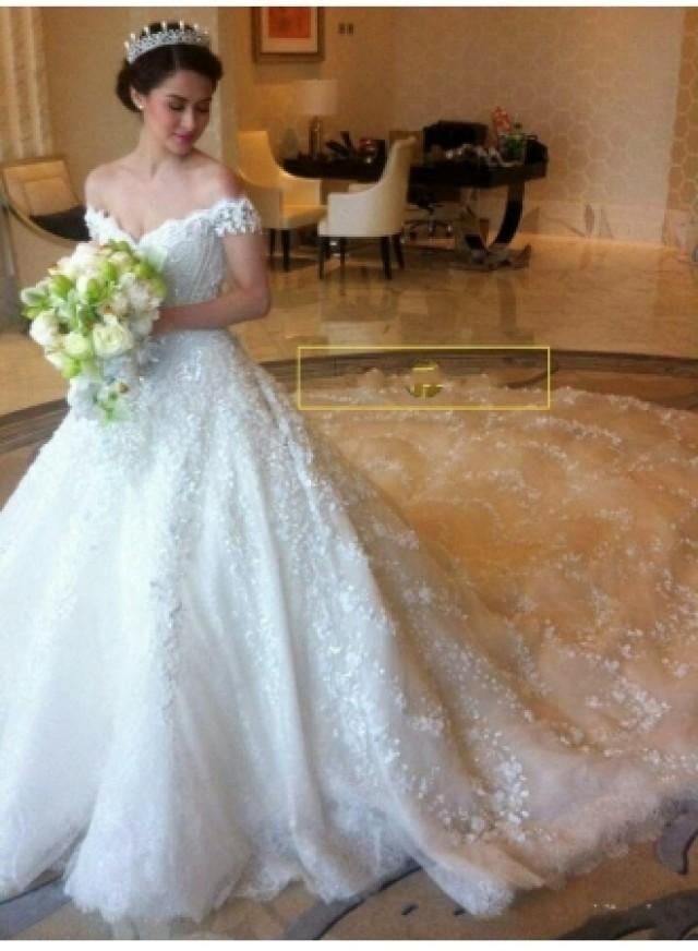 wedding photo - Luxus Hochzeitskleider Spitze